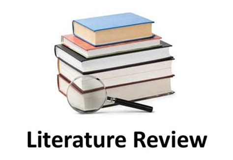 Literature review definition english